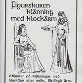 Mönster till historiska dräkter: Figurskuren klänning med klockärm