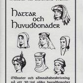 Mönster till historiska dräkter: Hattar och huvudbonader