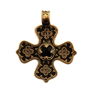 Bronze cross from Birka